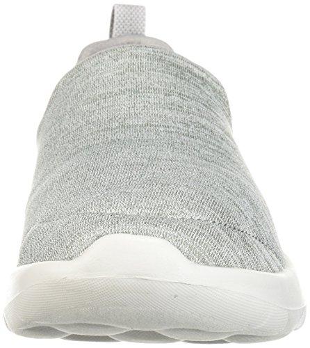 Gray Joy Skechers Sneaker Go 15611 Wide Women's Walk pwRUq