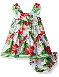 Baby Girls' Tiered Sundress With Panty