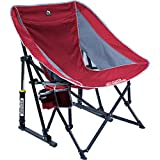 GCI Outdoor Pod Rocker Collapsible Rocking Chair, Red