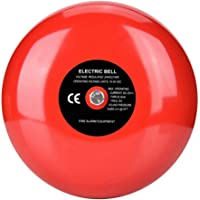 95dB Metal Electric Round Alarm Bell for School Home Factory Security,Convenient Installation