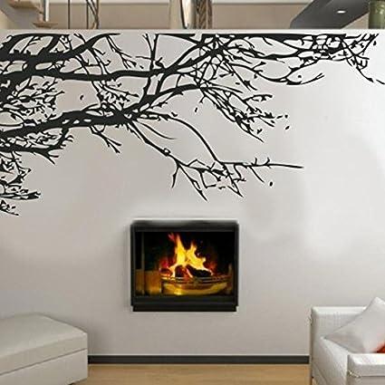 Black Branches Wall Stickers DIY Black Tree Wall Sticker Removable Room Decal  Wall Sticker Home Decor
