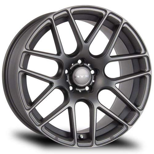 RTX Envy, 17X7.5, 5X114.3, 40, 73.1, Matte Gunmetal 081304 (Mazda Cx 5 17 Or 19 Inch Wheels)
