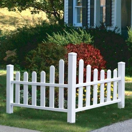 New England Arbors Country Corner Picket Fence by BLOSSOMZ (Image #1)