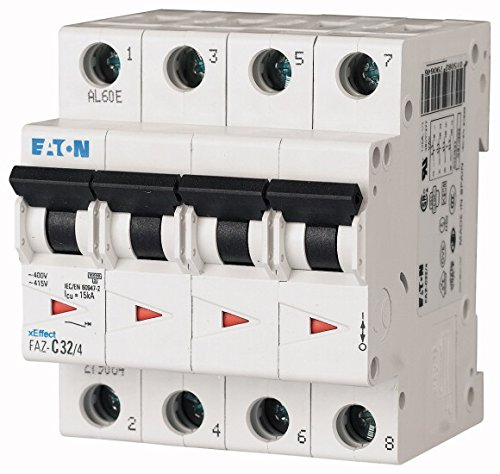 Eaton 279067 Leitungsschutzschalter, 63A, 4P, C-Char