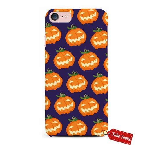Tobe Yours 3D Phone Case 雅婷琬怡Pumpkin Face Thriller Halloween Pumpkin Lights Design Durable Protective Anti-Scratch iPhone 7 Apple Phone Case Cover