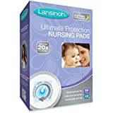 Lansinoh Nursing Pads, Pack of 50 Ultimate Protection Disposable Breast Pads