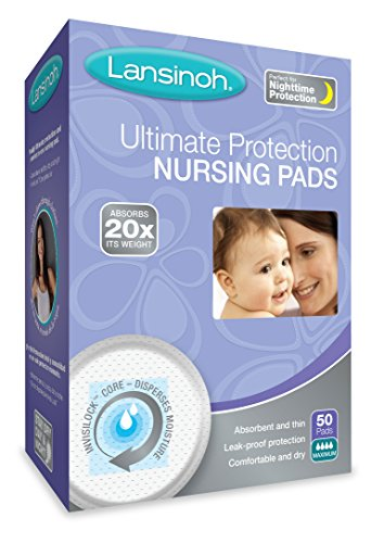 Lansinoh Ultimate Protection Nursing Pads, 50 Count, Day or ()