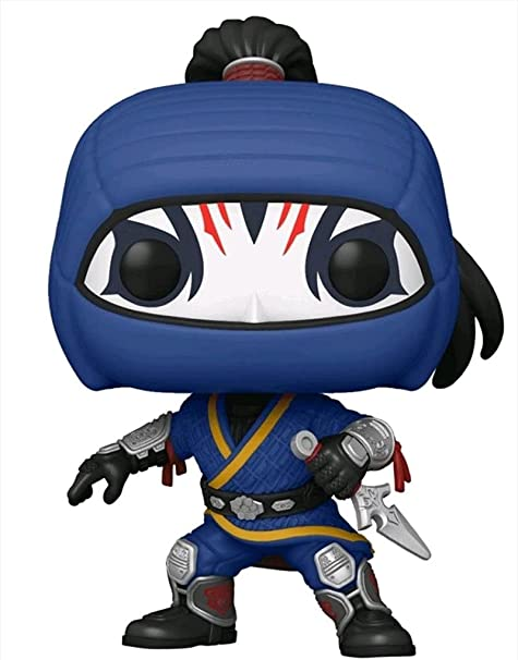 Funko Pop! Shang-Chi and The Legend of The Ten Rings Death Dealer Vinyl Bunddled with a Pop! Box Protector