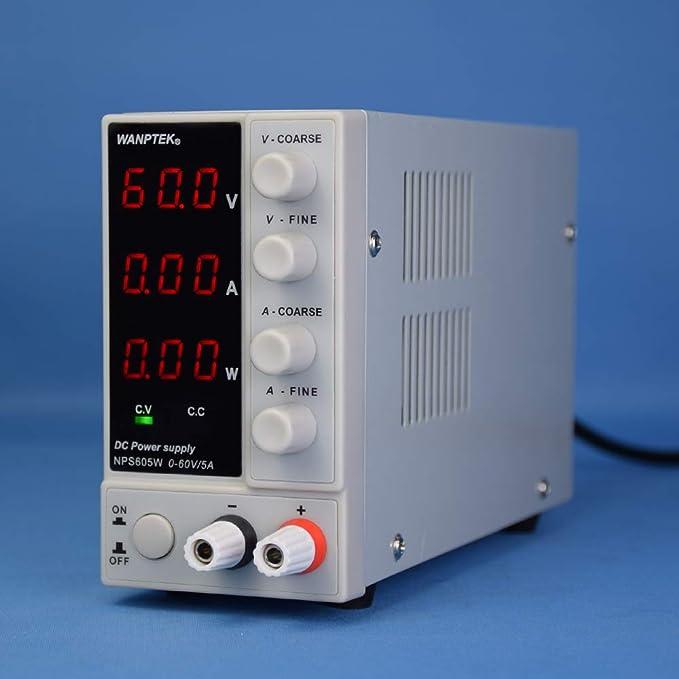 WANPTEK NPS605W  0-60V 0-5A DC-Schaltnetzteil Hochpräziser Leistungsregler