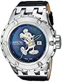 Invicta Men's Disney Limited Edition Automatic-self-Wind Watch with Stainless Steel Leather Strap, Black, 31 (Model: 23457)