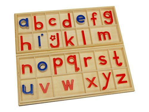 Montessori Large Movable Alphabets w/ Boxes