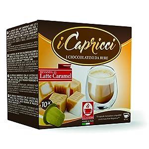 Cafe Bonini Hot Chocolate Nespresso Compatible Gourmet Capsules, for Original Line Nespresso Machine, 50 Count