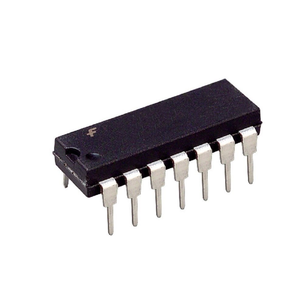 Pack of 10 Quad 2-Input and Gate Fairchild MM74HCT08N 74HCT08N 74HCT08