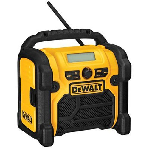 DEWALT 12V-20V MAX Compact Worksite Radio - Volt Dewalt 18 Radio