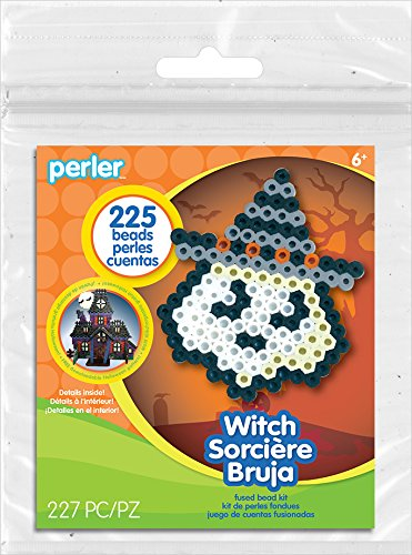 Perler Beads Creepy Witch Halloween Activity Kit Craft for Kids, 227 -