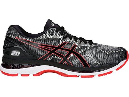 Gel-Nimbus 20 Men's Running Shoe, Black/Red Alert, 13 D(M) US