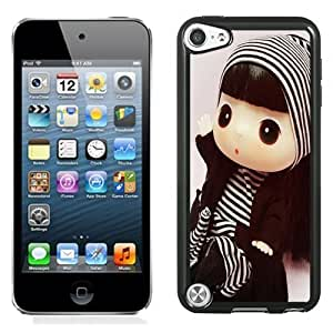 New Personalized Custom Designed For iPod Touch 5th Phone Case For Cute Little Barbie 03 Phone Case Cover