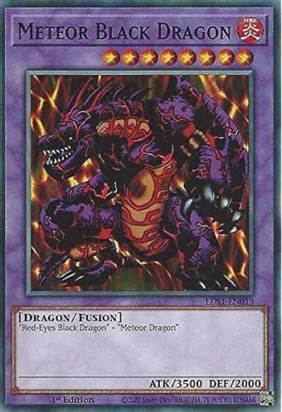 1st Edition Near Mint YUGIOH Black Metal Dragon LDS1-EN008 Common