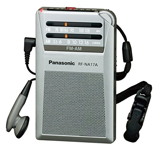 Silver radio RF-NA17A-S commute Panasonic FM / AM 2 Band