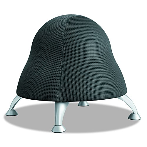 Safco Products 4755BL Runtz Ball Chair, Licorice by Safco Products