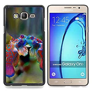 Queen Pattern - FOR Samsung Galaxy On7 G6000 - Fish Cute Love Tropical Coral Diving Sea - Cubierta del caso de impacto con el patr???¡¯???€????€???&Ac