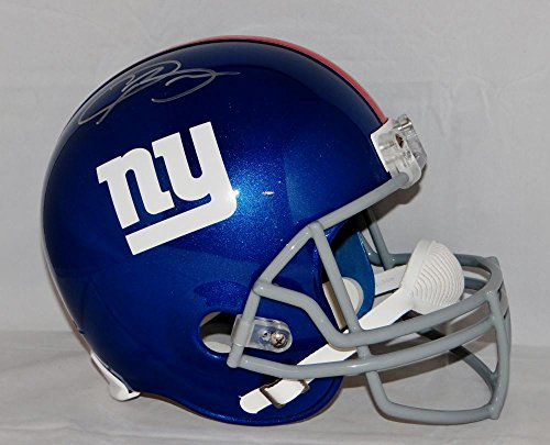 Odell Beckham Autographed Full Size New York Giants Helmet- JSA - Autographed Helmet Giants