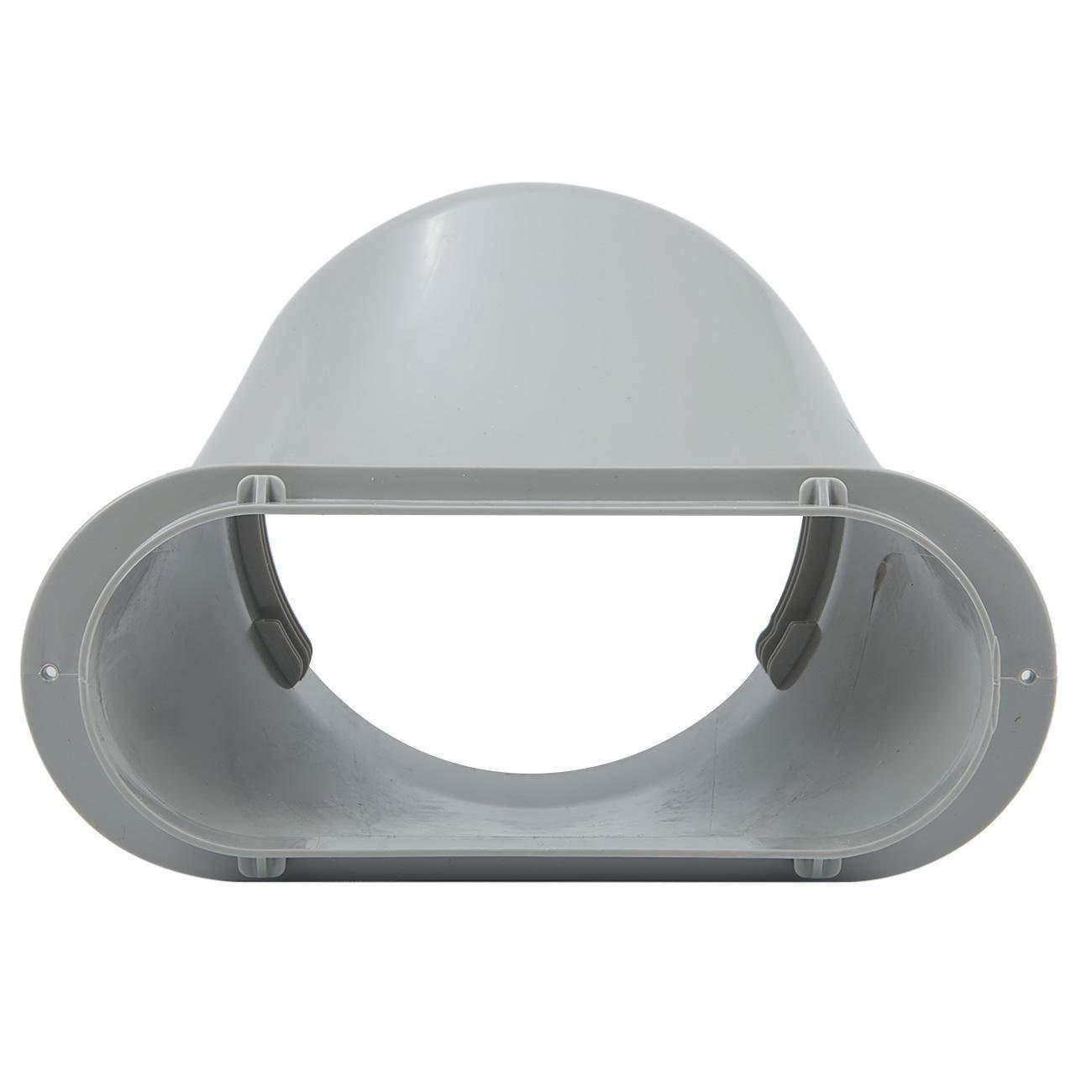 Kit di Scorrimento per Finestra Regolabile connettore per Tubo di Scarico per condizionatore Portatile 15 cm TOPAUP Topopup