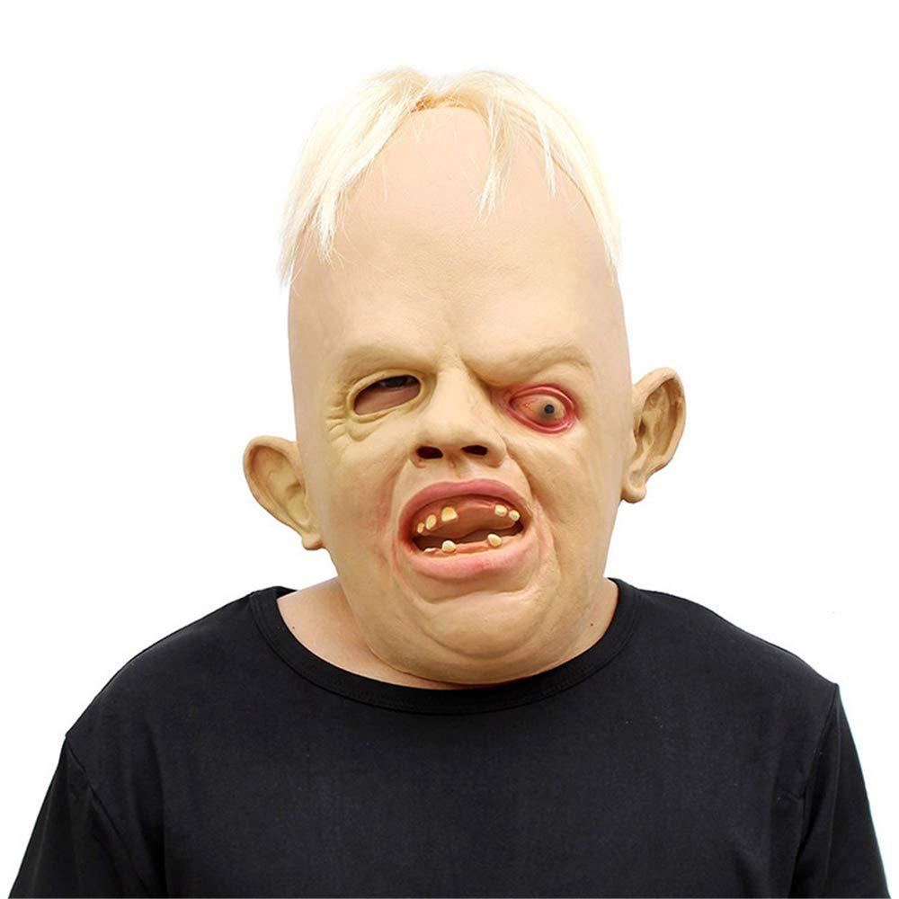 Morbuy Terror Máscara de Halloween, Adulto Látex Novedad Horror Espeluznante Cabeza Máscaras Cara Fiesta de Disfraces Cosplay (Cráneo): Amazon.es: Juguetes ...