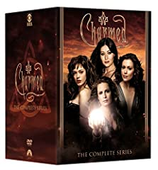 The supernatural saga begins now! Enjoy all 173 exciting episodes of this critically acclaimed series on a 48-disc collection. Charmed: The Complete Series contains all eight seasons of suspenseful drama, crafty humor and spellbinding effects...