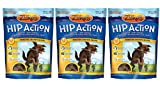Zuke's Hip Action Natural Dog Treats, 1 lb, Pack of 3