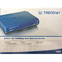 TRENDnet TE100-S8 8 Port 10 100 Mini Switch