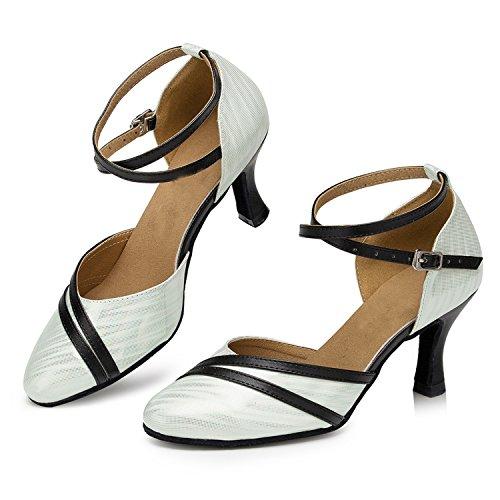 ... Minitoo , Damen Tanzschuhe , weiß - weiß - Größe: 35 ...
