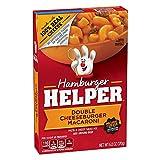 Betty Crocker Hamburger Helper Double Cheeseburger Macaroni 6 oz Box