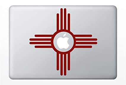 Amazon Zia Sun Symbol Laptop Decal Car Vinyl Sticker Dark