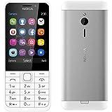 Nokia 230 Dual Sim - 2.8 Inch, 16MB RAM, GSM, Dark Silver