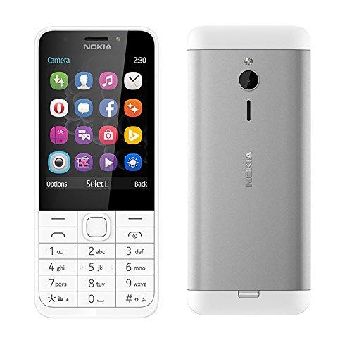 Nokia 230 Dual Sim - 2.8 Inch, 16MB RAM