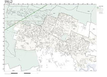 Amazon.com: ZIP Code Wall Map of Killeen, TX ZIP Code Map Laminated on tyler tx map, temple tx map, san bernardino tx map, addison tx map, kerrick tx map, corsicana tx map, bosque county tx map, fort hood tx map, springfield tx map, plano tx map, waco tx map, petersburg tx map, woodway tx map, wylie tx map, hondo tx map, killeen texas, lewisville tx map, long beach tx map, copperas cove tx map, biloxi tx map,