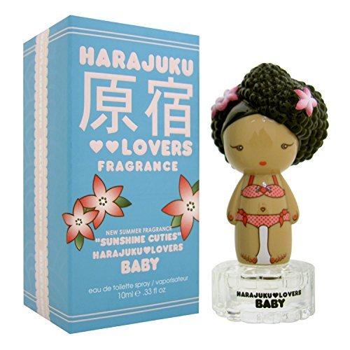 Harajuku Lovers Sunshine Cuties Baby Women Eau De Toilette Spray, Mini by Gwen Stefani, 0.33 Ounce