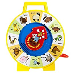 Fisher Price Classic Farmer Says See \'n Say