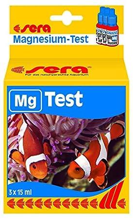 Sera 04714 MG de prueba 15 ml - Magnesio prueba para facilitar la determinación de la Magnesio gehaltes en el mar de agua Acuario: Amazon.es: Productos para ...