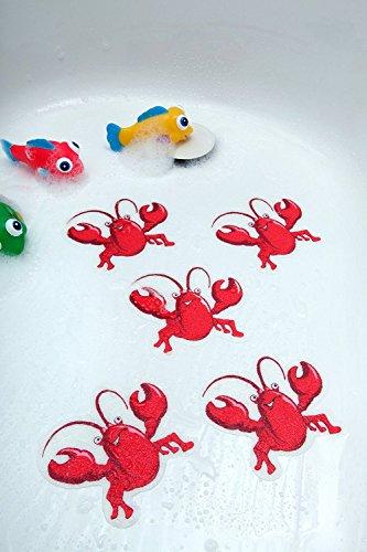 Lobster - Bathtub Stickers Safety Decals Treads Non Slip ...