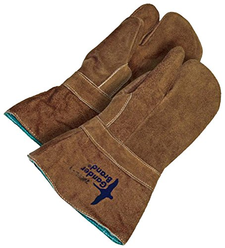 Bob Dale Gloves 639766FL1 Hi Heat Split Leather Gauntlet 1-Finger Mitt Banox Lining, by Bob Dale Gloves