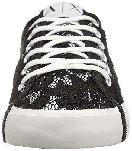 Womens Exchange Lace Lace Black Sneaker Exchange Armani Armani Exchange A Sneaker X Armani wUqaBR