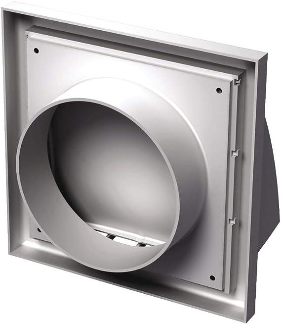 Vents/MV 152 VK / 186 x 186 x 150 mm de diámetro/Campana extractora de plástico blanco rejilla de ventilación: Amazon.es: Bricolaje y herramientas