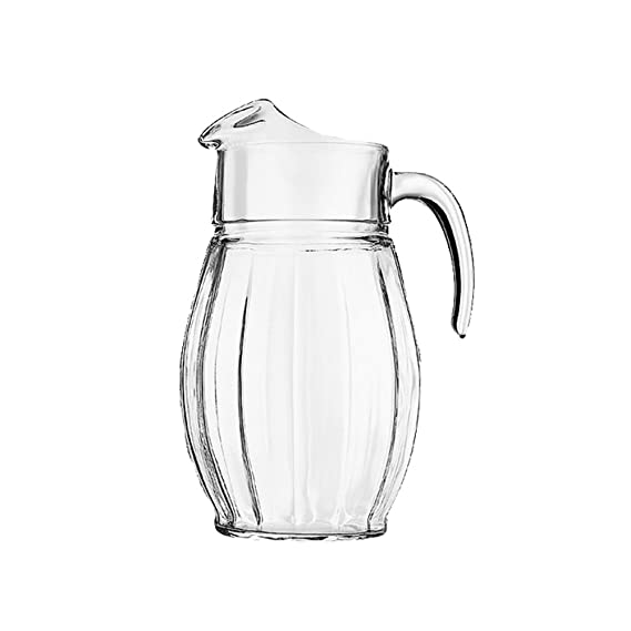 Pasabahce Dance Plain Jug, 1.65 litres Dinnerware & Serving Pieces at amazon