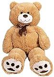 "Toys : Kangaroo Big Teddy Bears 36"" Large Teddy Bear Stuffed Animal - Tan 3 Foot Large Teddy Bear"