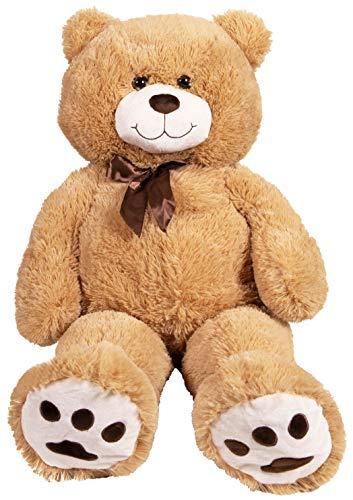 "Kangaroo Big Teddy Bears 36"" Large Teddy Bear Stuffed Animal - Tan 3 Foot Large Teddy Bear"