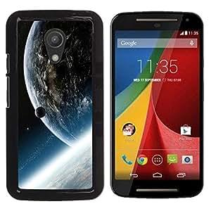 LECELL -- Funda protectora / Cubierta / Piel For Motorola MOTO G 2ND GEN II -- Space Planet Galaxy Stars 33 --