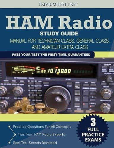 ham radio study guide manual for technician class general class rh amazon com Electronic Schematics Symbols Study Guide Electronics Symbols for Word