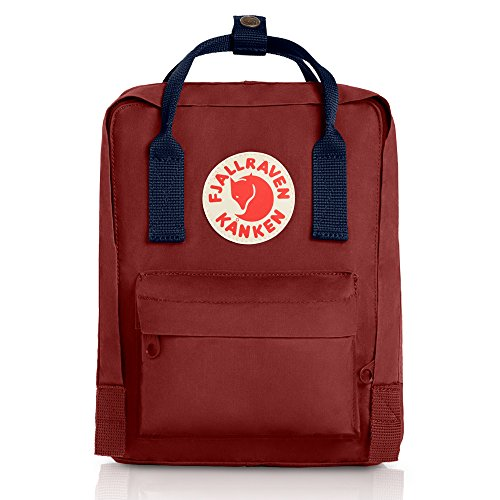 Fjallraven Kanken Mini Daypack, Ox Red/Royal Blue